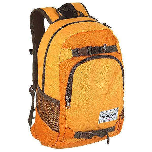 Рюкзак спортивный Dakine Grom Goldendale<br><br>Цвет: оранжевый<br>Тип: Рюкзак спортивный<br>Возраст: Взрослый<br>Пол: Мужской