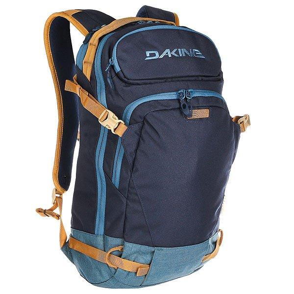 Рюкзак спортивный Dakine Heli Pro Bozeman<br><br>Цвет: синий,голубой<br>Тип: Рюкзак спортивный<br>Возраст: Взрослый<br>Пол: Мужской