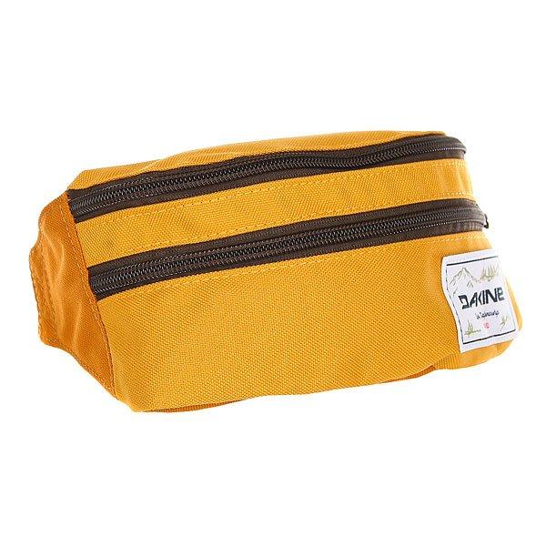Сумка поясная Dakine Classic Hip Pack Goldendale<br><br>Цвет: оранжевый<br>Тип: Сумка поясная<br>Возраст: Взрослый<br>Пол: Мужской