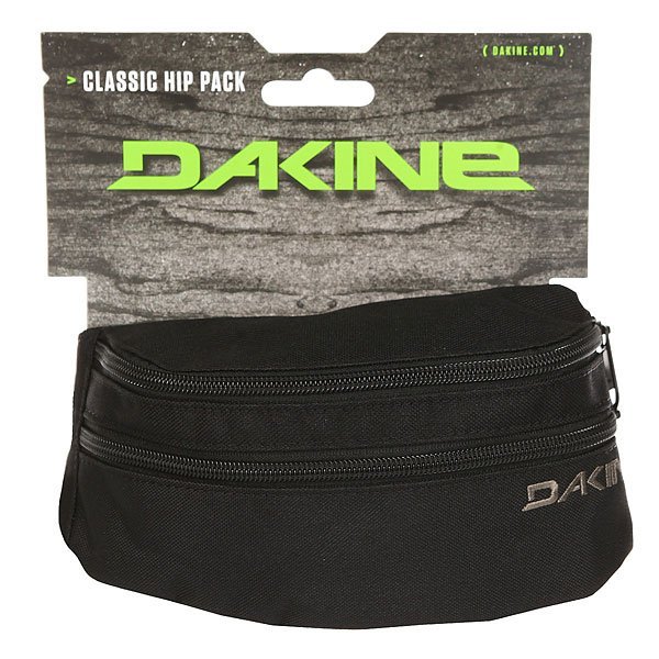 Сумка поясная Dakine Classic Hip Pack Real Black
