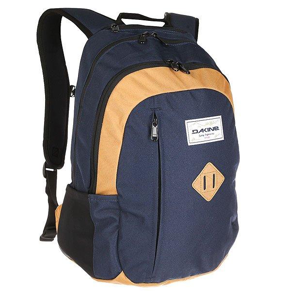 Рюкзак городской Dakine Factor Bozeman<br><br>Цвет: синий,коричневый<br>Тип: Рюкзак городской<br>Возраст: Взрослый<br>Пол: Мужской