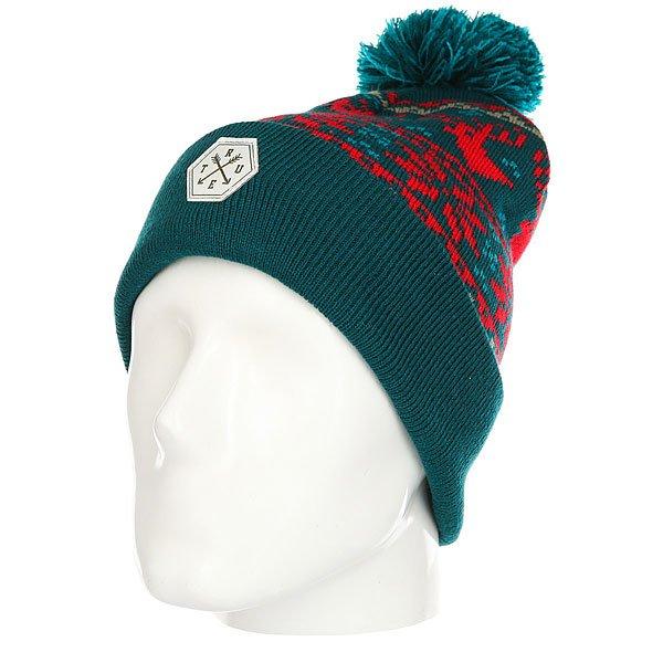 Шапка TrueSpin Ts Deer Green<br><br>Цвет: зеленый,красный<br>Тип: Шапка<br>Возраст: Взрослый<br>Пол: Мужской