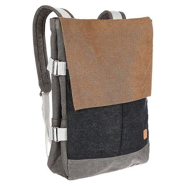 Рюкзак городской Ucon Eaton Backpack Grey/Sand<br><br>Цвет: серый,коричневый<br>Тип: Рюкзак городской<br>Возраст: Взрослый<br>Пол: Мужской