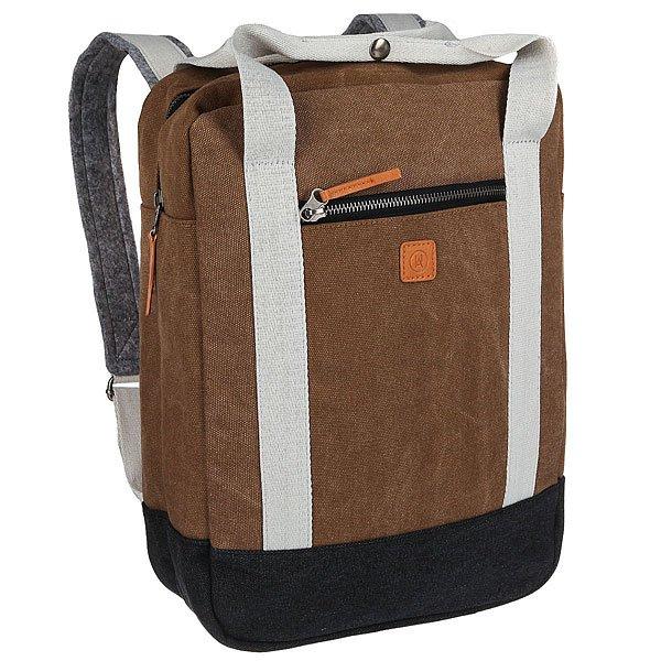 Рюкзак городской Ucon Ison Backpack Sand/Black<br><br>Цвет: серый,черный,коричневый<br>Тип: Рюкзак городской<br>Возраст: Взрослый<br>Пол: Мужской