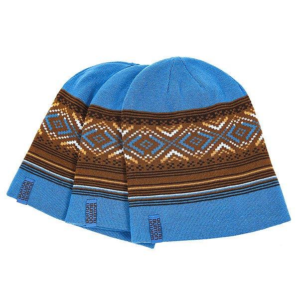 Шапка Burton Poledo 3 pack Glacier Blue<br><br>Цвет: синий,коричневый<br>Тип: Шапка<br>Возраст: Взрослый<br>Пол: Мужской