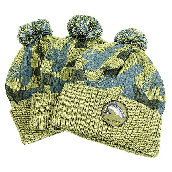 Шапка Burton Seymour 3 pack Algae<br><br>Цвет: зеленый,голубой<br>Тип: Шапка<br>Возраст: Взрослый<br>Пол: Мужской
