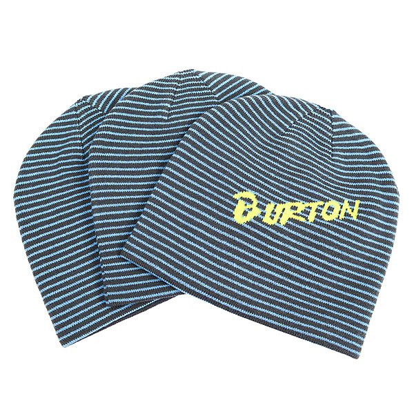 Шапка детская Burton Marquee 3 pack Faded/Blue Steel