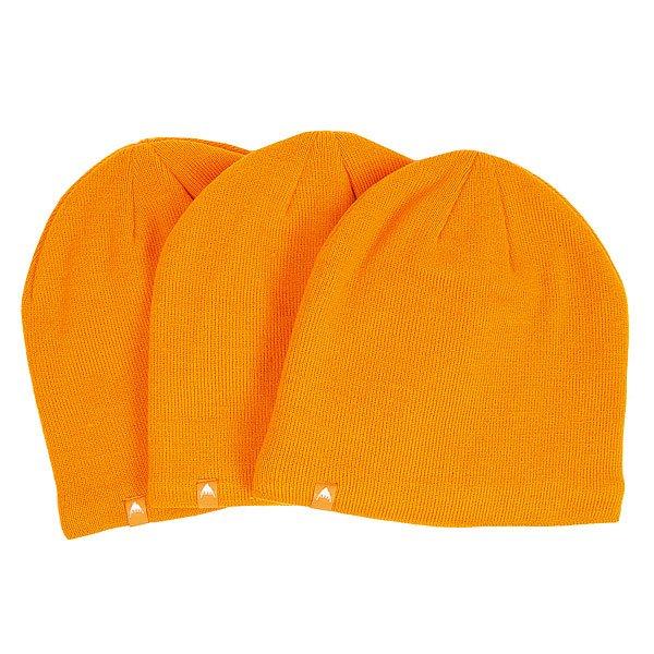 Шапка Burton Tech 3 pack Safety<br><br>Цвет: оранжевый<br>Тип: Шапка<br>Возраст: Взрослый<br>Пол: Мужской