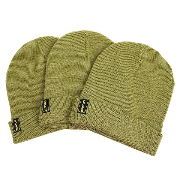 Шапка Burton Kactusbunch 3 pack Algae<br><br>Цвет: зеленый<br>Тип: Шапка<br>Возраст: Взрослый<br>Пол: Мужской