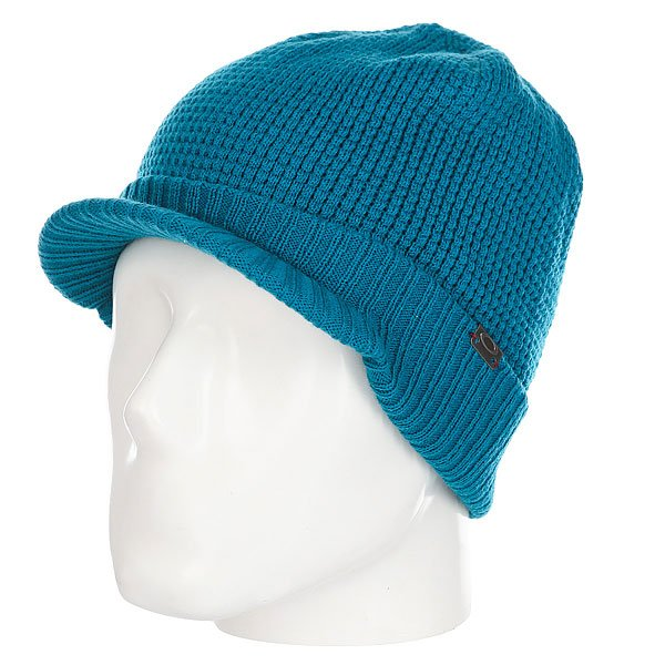 Шапка Oakley Baker Brim Aurora Blue<br><br>Цвет: голубой<br>Тип: Шапка<br>Возраст: Взрослый<br>Пол: Мужской