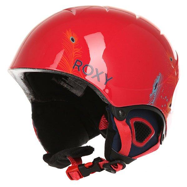 Шлем для сноуборда детский Roxy Misty irl G Pck Peterpan/Blue PrintСноубордический шлем для маленьких гонщиков. Прочный шлем из облегченного пластика в комплекте со сноубордической маской.Технические характеристики: В комплекте со шлемом идет маска Loola.Двойной микрошелл и супер легкая конструкция.Пенный амортизирующий наполнитель EPS.Вентиляция сверху и внутренние каналы EPS для эффективного воздухообмена.Подкладка из флиса и сетки.Мягкие термоформованные ушные накладки со съемной подкладкой из шерпы.Интегрированная система регулировки размера.Зажим для маски.Полиуретановая оправа.Эргономичный плоский пенный наполнитель (10 мм).Ремешок шириной 40 мм с двумя слайдерами для регулировки размера.Сочетание сферического поликарбонатного фильтра с двойным из ацетата/пропионата + защищающее от царапин покрытие.100% защита от УФ излучения.Покрытие против запотевания.Вес 340 г.<br><br>Цвет: красный<br>Тип: Шлем для сноуборда<br>Возраст: Детский