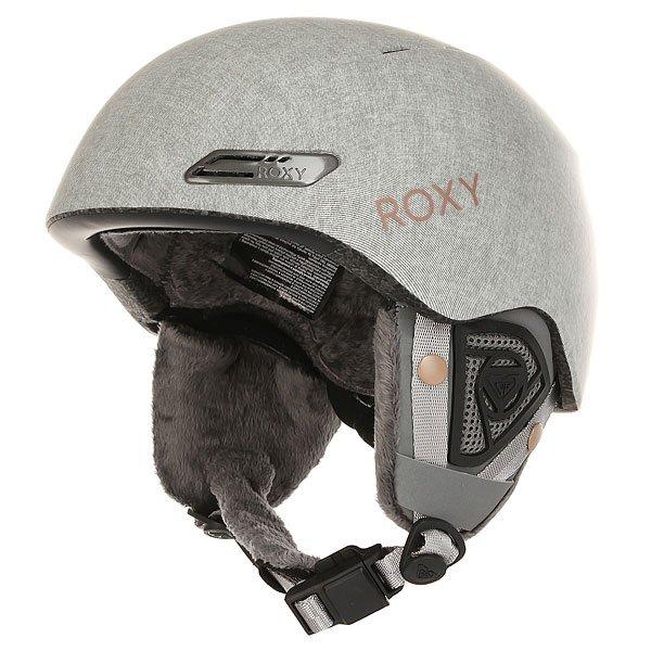 Шлем для сноуборда женский Roxy Love Is All Mid Heather Grey