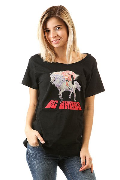 Футболка женская DC Shoes Savage Ride Loo Black