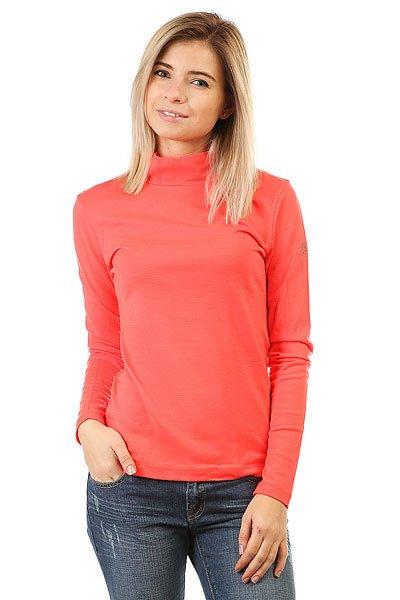 Термобелье (верх) женское Super Natural Base Turtle Neck 230 MagmaФункциональное термобелье с воротником и длинными рукавами, которое состоит наполовину из мериносовой шерсти с добавлением полиэстера для производительности. Дышащая футболка, которая легко стирается, не впитывает запахи, можно использовать как при занятиях спортом, так и каждый день.Технические характеристики: Мериносовая шерсть и полиэстер для производительности.Легко стирается, не впитывает запахи, дышащая текстура ткани.Согревает в холодные дни и дарит прохладу при высоких температурах.<br><br>Цвет: розовый<br>Тип: Термобелье (верх)<br>Возраст: Взрослый<br>Пол: Женский