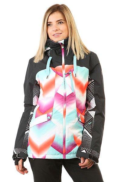 Куртка женская Roxy Wildlife Pop Snow Ocean SprayЯркий дизайн, лаконичный крой и отличный функционал - именно эти составляющие делают куртку Roxy Wildlife отличным выбором для того, чтобы проводить лучшие дни на склоне. Влагостойкая мембрана15K ROXY DryFlight® защитит от снега и ветра, а удобные карманы позволят всегда держать под рукой самые необходимые мелочи, такие как ски-пасс, любимую музыку и смартфон. Приятным дополнением станет особая обработка внутренней части воротаBiotherm® Enjoy &amp; Care - это специальное косметическое средство, помещенное в структуру волокон ткани, которое увлажняет Вашу кожу, пока Вы наслаждаетесь катанием.Характеристики:Tailored Fit: крой, вдохновленный городской одеждой; вещь сидит по фигуре, при этом оставляя место для свободы движений.Мембранная влагостойкая дышащая ткань15K ROXY DryFlight®.Утеплитель3M™ Thinsulate™ (100г туловище, 80г рукава, 60г капюшон).Подкладка из тафты с трикотажными ворсистыми вставками. Полностью проклеенные швы. ROXY X Biotherm® Enjoy &amp; Care: внутренняя часть воротника обработана специальным косметическим составом, который ухаживает и увлажняет кожу (вещество выдерживает до 15 стирок при температуре до 40С). Регулируемый в трех направлениях капюшон. Съемный капюшон. Снегозащитная юбка. Система крепления куртки к штанам. Защита подбородка. Нагрудный карман на молнии. Внутренний медиа-карман на молнии. Внутренний сетчатый карман для маски. Два кармана для рук на молнии. Карабин для ключа. Ткань для протирки линзы маски. Утягивающийся подол. Карман для ски-пасса на рукаве на молнии. Внутренние эластичные манжеты из лайкры с отверстием для большого пальца. Вентиляционные сетчатые карманы подмышками на молнии. Регулируемые на липучке манжеты.<br><br>Цвет: мультиколор<br>Тип: Куртка утепленная<br>Возраст: Взрослый<br>Пол: Женский