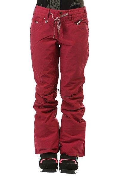 Штаны сноубордические женские Roxy Woodrun RhododendronВ штанах Roxy Woodrun нет абсолютно никаких лишних деталей, все сосредоточено на оптимальном функционале и отличной мембранной ткани15K ROXY DryFlight®, которая в сочетании с утеплителемWarmflight® 40г обеспечит весьма комфортные условия для катания даже в глубоком снегу. Штаны, чей дизайн вдохновлен лайфстайл брюками, обеспечат правильную не мешковатую посадку, оставляя свободу движениям, а снегозащитные гетры и вентиляционные сетчатые карманы добавят комфорта во время катания.Характеристики:Tailored Fit: крой, вдохновленный городской одеждой; вещь сидит по фигуре, при этом оставляя место для свободы движений.Мембранная влагостойкая дышащая ткань15K ROXY DryFlight®.Утеплитель: Warmflight® 40г. Подкладка из тафты с трикотажными ворсистыми вставками.Полностью проклеенные швы. Регулировка талии на шнурке. Система крепления штанов к куртке. Система поднятия низа штанин для комфортной ходьбы и сохранения долговечности. Холдер для ски-пасса. Вентиляционные сетчатые карманы на молнии с внутренней стороны бедер. Расширяющийся низ штанин на молнии.Снегозащитные гетры из тафты. Два задних кармана на молнии. Два кармана для рук. Состав: 100% нейлон.<br><br>Цвет: фиолетовый<br>Тип: Штаны сноубордические<br>Возраст: Взрослый<br>Пол: Женский