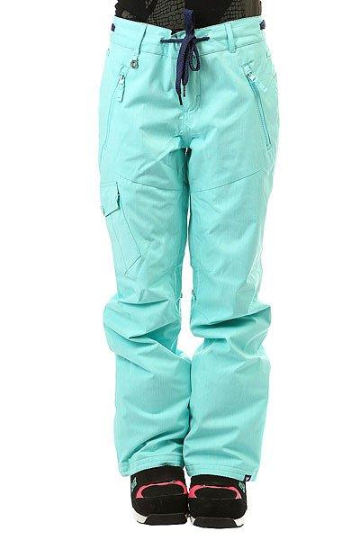 Штаны сноубордические женские Roxy Tonic Blue RadianceКлассические штаны, обеспечивающие максимальный комфорт во время катания.Практичный материал и полная функциональность.Характеристики:Водостойкая и дышащая мембрана DRY-FLIGHT 10K (10 000 мм / 10 000 г.). Утеплитель: 60 г. Подкладка из тафты. Регулировка пояса (липучка). Снегозащитные гетры. Сетчатая вентиляция. Держатель для ски-пасса. Накладные карманы. Классический крой. Состав: 100% полиэстер.<br><br>Цвет: голубой<br>Тип: Штаны сноубордические<br>Возраст: Взрослый<br>Пол: Женский