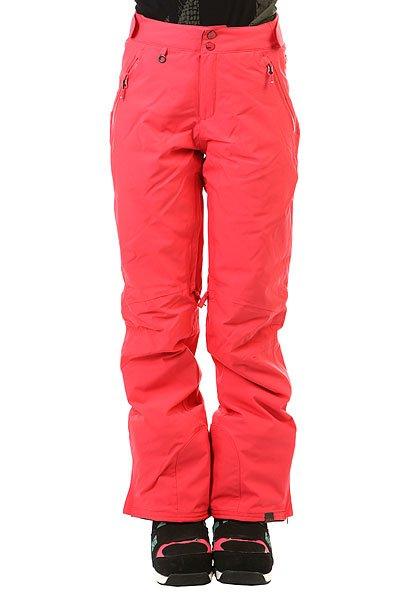 Штаны сноубордические женские Roxy Montana Paradise PinkЖенские штаны Roxy Montana отлично сработают на защиту Вашего тела от холода и влаги во время раскатывания свежего снега в лучших заснеженных уголках нашей планеты. Качественный синтетический утеплитель PrimaLoft® Black Insulation Eco отлично согревает, оставаясь при этом совершенно компактным и легким. Влагостойкая мембранная ткань DryFlight® с высоким показателем 20К отлично дышит и эффективно защитит Вас от ветра и влаги в самых непростых условиях, а высокая талия, снегозащитные гетры и полностью проклеенные швы сведут возможность попадания снега внутрь к абсолютному нулю.Характеристики:Влагостойкая мембранная ткань DryFlight® 20К.Классический прямой крой. Застегиваются на молнию и кнопки.Водостойкие молнии YKK® Aquaguard®.Регулируемая высокая талия с эластичной спинкой. Подкладка из тафты с начесом. Качественный синтетический утеплитель PrimaLoft® Black Insulation Eco (60 г).Полностью проклеенные швы. Вентиляционные отверстия с сетчатой подкладкой.Карманы для рук на молнии. Снегозащитные гетры.Карман для ски-пасса.Края штанин на кнопке. Усиленные края штанин для большей износостойкости.Система утяжки краев штанин для предотвращения загрязнения. Система пристегивания штанов к куртке. Состав: 100% полиэстер.<br><br>Цвет: розовый<br>Тип: Штаны сноубордические<br>Возраст: Взрослый<br>Пол: Женский