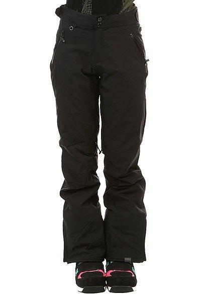 Штаны сноубордические женские Roxy Montana True BlackЖенские штаны Roxy Montana отлично сработают на защиту Вашего тела от холода и влаги во время раскатывания свежего снега в лучших заснеженных уголках нашей планеты. Качественный синтетический утеплитель PrimaLoft® Black Insulation Eco отлично согревает, оставаясь при этом совершенно компактным и легким. Влагостойкая мембранная ткань DryFlight® с высоким показателем 20К отлично дышит и эффективно защитит Вас от ветра и влаги в самых непростых условиях, а высокая талия, снегозащитные гетры и полностью проклеенные швы сведут возможность попадания снега внутрь к абсолютному нулю.Характеристики:Влагостойкая мембранная ткань DryFlight® 20К.Классический прямой крой. Застегиваются на молнию и кнопки.Водостойкие молнии YKK® Aquaguard®.Регулируемая высокая талия с эластичной спинкой. Подкладка из тафты с начесом. Качественный синтетический утеплитель PrimaLoft® Black Insulation Eco (60 г).Полностью проклеенные швы. Вентиляционные отверстия с сетчатой подкладкой.Карманы для рук на молнии. Снегозащитные гетры.Карман для ски-пасса.Края штанин на кнопке. Усиленные края штанин для большей износостойкости.Система утяжки краев штанин для предотвращения загрязнения. Система пристегивания штанов к куртке. Состав: 100% полиэстер.<br><br>Цвет: черный<br>Тип: Штаны сноубордические<br>Возраст: Взрослый<br>Пол: Женский