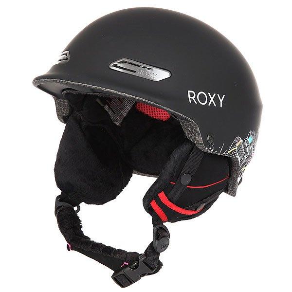 Шлем для сноуборда женский Roxy Power Powder Ha-hui True BlackЭтот супер легкий шлем стоит выбрать хотя бы из-за его невероятного цветового решения. Если Вы и предпочитали раньше стильные и яркие шапки скучным однотонным шлемам, то с появлением Roxy Power Powder это время прошло. Прочная двухслойная конструкция с внутренним наполнителем из EPS пены, амортизирующей удары, надежно защитит от неизбежных падений, а мягкая и комфортная подкладка из шерпа-флиса несомненно добавит тепла и уюта даже в самых экстремальных условиях.Характеристики:Супер легкая двойная формованная оболочка. Внутренний слой из вспененного материала EPS, амортизирующего удары.Фронтальные вентиляционные отверстия для увеличения потока воздуха.Мягкие амбушюры из шерпа-флиса. Мягкая накладка на подбородок из шерпа-флиса. Крепление для маски. Подкладка для комфорта и сохранения тепла из сетки и шерпа-флиса. Вес: 350 грамм.<br><br>Цвет: черный,мультиколор<br>Тип: Шлем для сноуборда<br>Возраст: Взрослый<br>Пол: Женский
