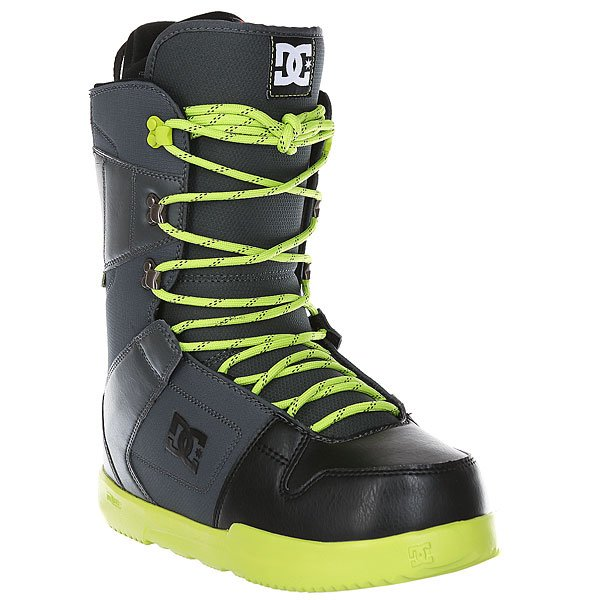 Ботинки для сноуборда DC Phase Shadow/Black/LiДостаточно мягкие ботинки со стелькой UniLite из вспененного EVA материала для лучшей амортизации. Эти практичные ботинки идеально подойдут начинающим и прогрессирующим райдерам, так как не будут стеснять ногу излишней жесткостью.Технические характеристики: Традиционная шнуровка.Технологичная и легкая подошва Unilite™ Foundation.Подошва из полимера EVA.Внутренник Red.Базовая сноубордическая стелька.Жесткость 5/10.<br><br>Цвет: черный,серый,зеленый<br>Тип: Ботинки для сноуборда<br>Возраст: Взрослый<br>Пол: Мужской