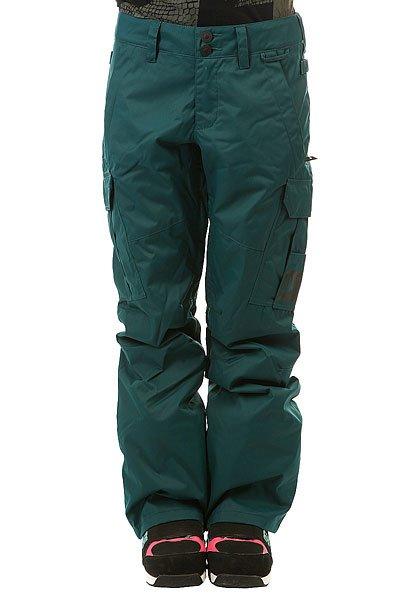 Штаны сноубордические женские DC Ace Pnt Deep TealКлассические сноубордические штаны с надежной мембраной EXOTEX и утеплителем.Технические характеристики: Мембрана EXOTEX 10.Технологичный текстиль кареточного плетения.Теплая и уютная подкладка из тафты.Утеплитель 40 г.Критические швы проклеены.Вентиляция за счет сеточных вставок.Система пристегивания куртки к штанам.Регулировка талии (с изнанки).Эргономичный крой с акцентированной областью колена.Гетры для сноубордического ботинка с водоотталкивающей пропиткой DWR.Вставка на кнопке для регулировки ширины нижней части штанины.Карманы с утепленной подкладкой на молнии.Карманы-карго с защитным клапаном на липучке Velcro.Задние карманы на липучке Velcro.Система утяжки краев штанин для предотвращения их износа и загрязнения.Классический крой.<br><br>Цвет: зеленый<br>Тип: Штаны сноубордические<br>Возраст: Взрослый<br>Пол: Женский
