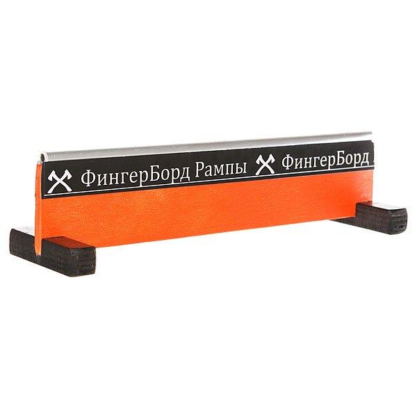 Перила для фингерборда Turbo-Fb Фбр Высокая Круглая Orange<br><br>Цвет: оранжевый<br>Тип: Перила для фингерборда<br>Возраст: Взрослый<br>Пол: Мужской