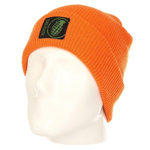 Шапка Grenade Max Orange<br><br>Цвет: оранжевый<br>Тип: Шапка<br>Возраст: Взрослый<br>Пол: Мужской