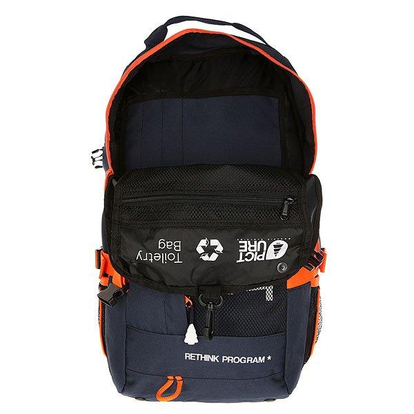 Рюкзак туристический Picture Organic Hookey Backpack Dark Blue