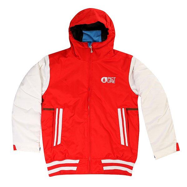 Куртка детская Picture Organic Park Avenue Red<br><br>Цвет: красный,белый<br>Тип: Куртка утепленная<br>Возраст: Детский