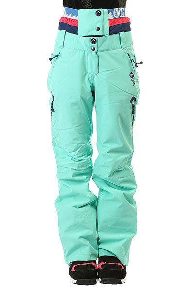 Штаны сноубордические женские Picture Organic Palace Mint Green