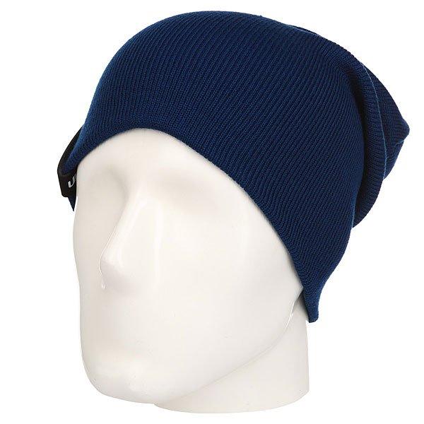 Шапка носок TrueSpin Basic Style Navy<br><br>Цвет: синий<br>Тип: Шапка носок<br>Возраст: Взрослый<br>Пол: Мужской