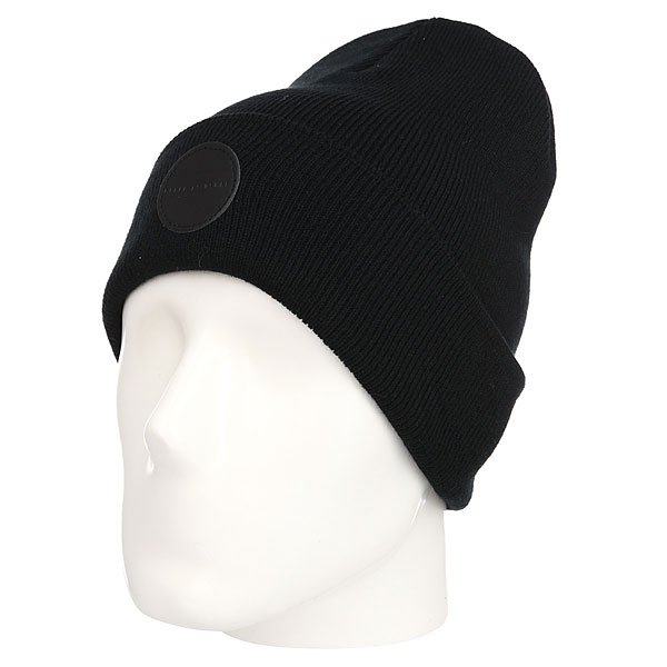 Шапка TrueSpin Black Is Usual Beanie Black шапка truespin cannabis beanie black