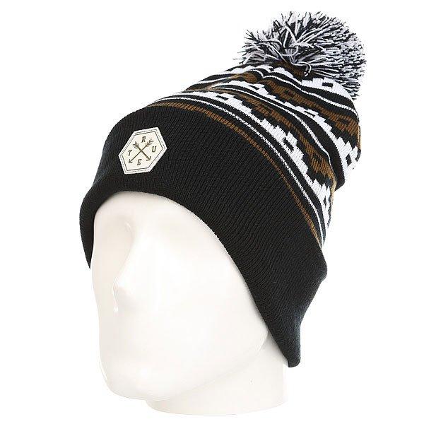Шапка TrueSpin Deer Beanie Black<br><br>Цвет: черный,белый,коричневый<br>Тип: Шапка<br>Возраст: Взрослый<br>Пол: Мужской