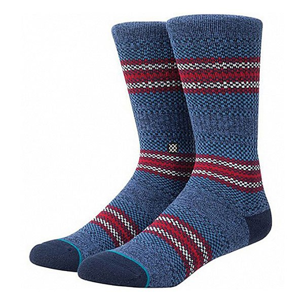 Носки средние Stance Gaviotas 2 Blue<br><br>Цвет: синий,красный<br>Тип: Носки средние<br>Возраст: Взрослый<br>Пол: Мужской