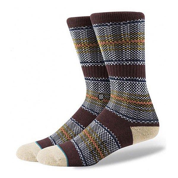 Носки средние Stance Gaviotas 2 Burgundy/Blac<br><br>Цвет: серый,бежевый,бордовый<br>Тип: Носки средние<br>Возраст: Взрослый<br>Пол: Мужской