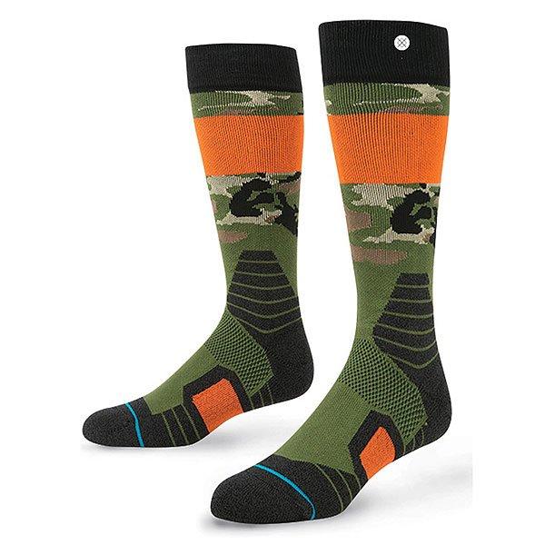 Носки высокие детские Stance Legends Kids Camo<br><br>Цвет: черный,зеленый,оранжевый<br>Тип: Носки высокие<br>Возраст: Детский
