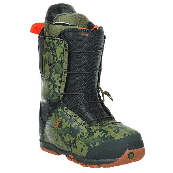 Ботинки для сноуборда детские Burton Ruler Green/Camo