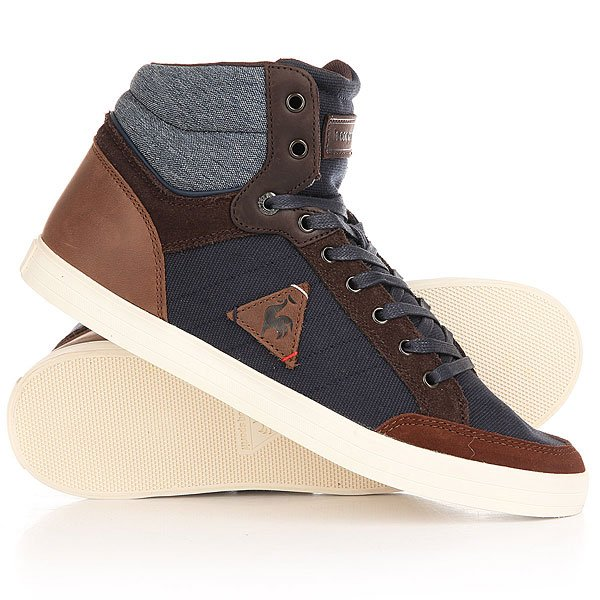 Кеды кроссовки высокие Le Coq Sportif Portalet Mid Craft Hvy Cvs/Suede Dress кеды кроссовки высокие le coq sportif portalet mid craft hvy cvs suede dress