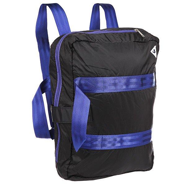 Рюкзак городской Le Coq Sportif Lcs Tech Reporter Bag BlackУдобная функциональная сумка-портфель, которую можно носить и в качестве рюкзака.Универсальность превыше всего!Характеристики:Две ручки для переноски в руках. Широкий плечевой ремень. Одно объемное отделение с перегородкой на молнии. Лямки для переноски на спине.<br><br>Цвет: черный,синий<br>Тип: Рюкзак городской<br>Возраст: Взрослый<br>Пол: Мужской