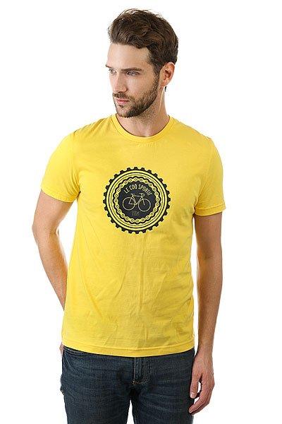 Футболка Le Coq Sportif Tdf Fan N°5 Original Jaune<br><br>Цвет: желтый<br>Тип: Футболка<br>Возраст: Взрослый<br>Пол: Мужской