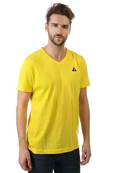 Футболка Le Coq Sportif Sarno Empire Yellow<br><br>Цвет: желтый<br>Тип: Футболка<br>Возраст: Взрослый<br>Пол: Мужской