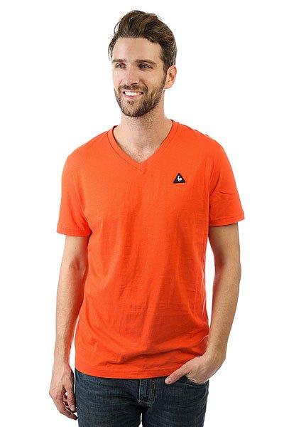 Футболка Le Coq Sportif Sarno Sanguine<br><br>Цвет: оранжевый<br>Тип: Футболка<br>Возраст: Взрослый<br>Пол: Мужской