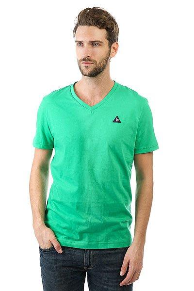 Футболка Le Coq Sportif Sarno St Etienne<br><br>Цвет: зеленый<br>Тип: Футболка<br>Возраст: Взрослый<br>Пол: Мужской