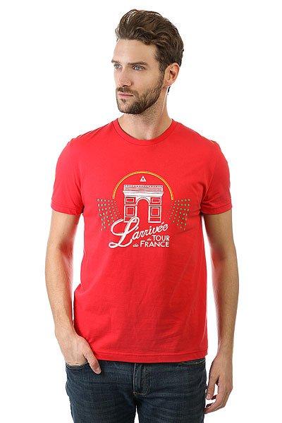 Футболка Le Coq Sportif Tdf Fan N°7 Vintage Red<br><br>Цвет: красный<br>Тип: Футболка<br>Возраст: Взрослый<br>Пол: Мужской