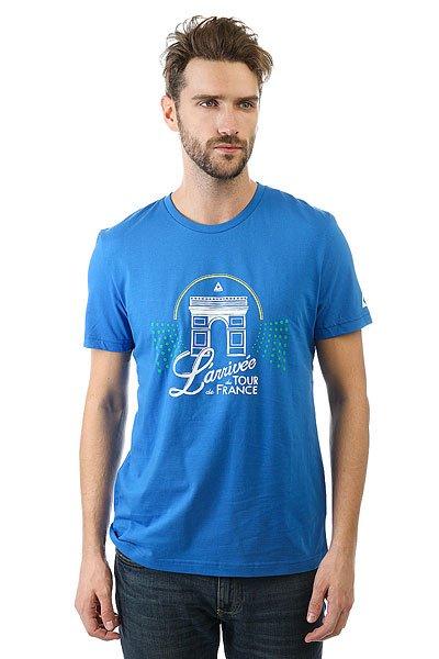 Футболка Le Coq Sportif Tdf Fan N°7 Middle Blue<br><br>Цвет: синий<br>Тип: Футболка<br>Возраст: Взрослый<br>Пол: Мужской