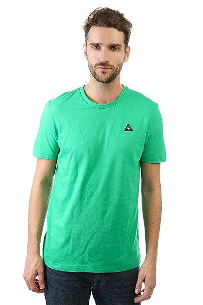 Футболка Le Coq Sportif Sureau Tee N°2 St Etienne<br><br>Цвет: зеленый<br>Тип: Футболка<br>Возраст: Взрослый<br>Пол: Мужской