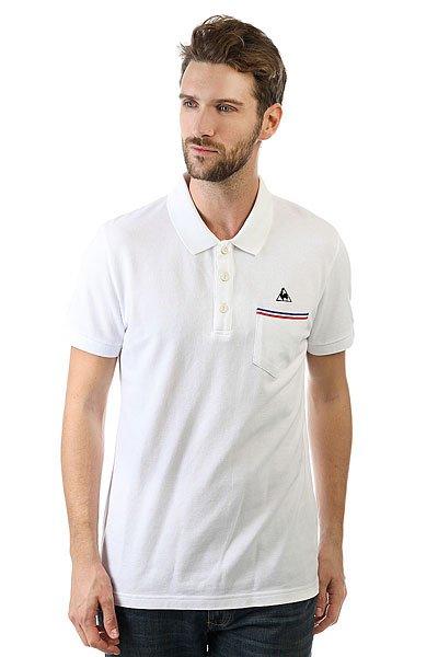 Поло Le Coq Sportif Tricolores Pavot Polo Optical White