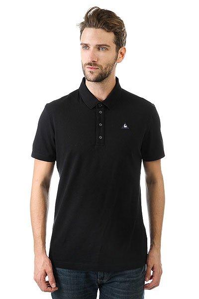 Поло Le Coq Sportif Siria Polo N°2 Black<br><br>Цвет: черный<br>Тип: Поло<br>Возраст: Взрослый<br>Пол: Мужской