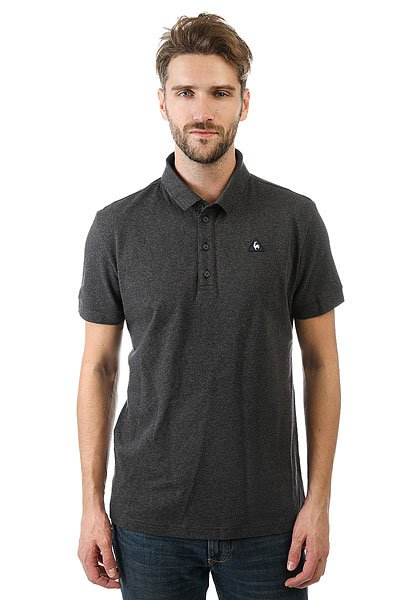 Поло Le Coq Sportif Siria Polo N°2 Dark Heather Grey